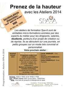 Ateliers SPAA 4 avril 2014 picture