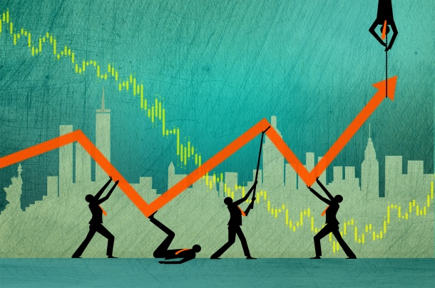 The search for profit when markets are volatile